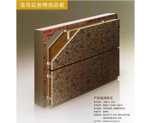 金克拉岩棉成品板